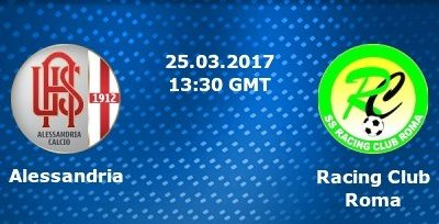 Pronostico Alessandria – Racing Roma 25/03/2017