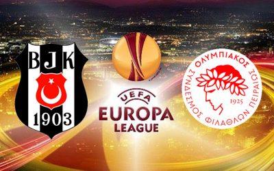 Besiktas – Olympiakos – 4-1 Highlights – 16 Marzo 2017 – Europa League
