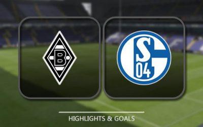 Borussia M – Schalke 04 – 2-2 Highlights – 16 Marzo 2017 – Europa League