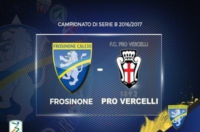 Frosinone – Pro Vercelli 2-1 – Highlights – Giornata 42 – Serie B 2016-17